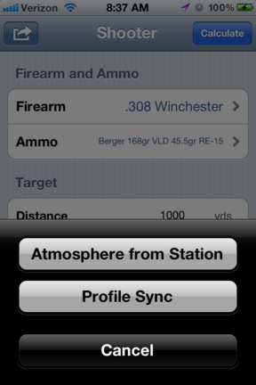 Shooter - Ballistics Calculator for iOS and Android